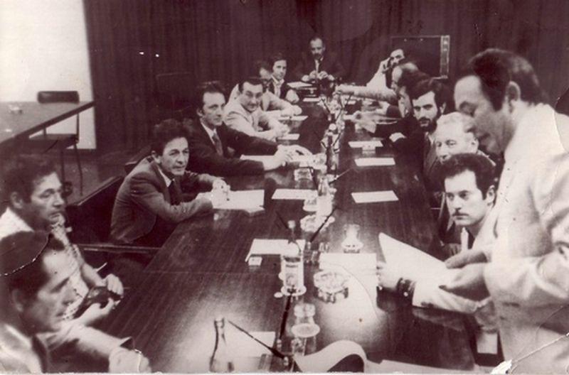 1975 Il Movimento incontra la segreteria del PCI-Berlinguer, Lama, Pecchioli, Flamigni