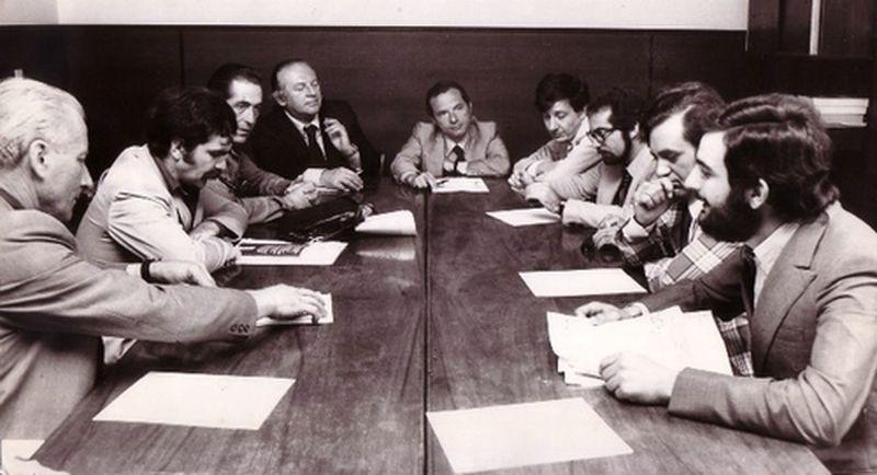 1975 Il Movimento incontra la segreteria del PSI-Zagari, Manca, Cassola