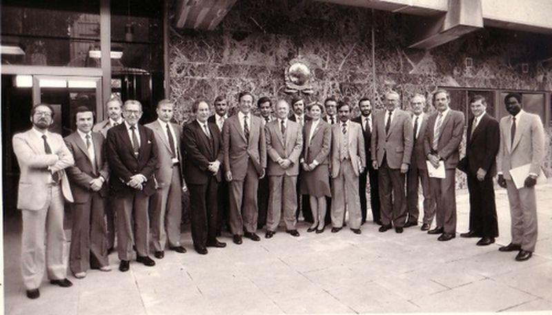 1980-Saint Cloud-Francia-Al Segretariato Generale dell'Interpol