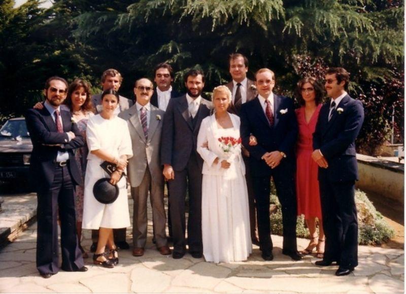 1982-OIPC-Interpol-Ufficiali di collegamento antidroga-Al matrimonio di Josè Fernandez in Spagna