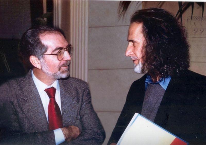 1997-Roma-Incontro con John Serpico ad un convegno sulla corruzione nelle Forze di polizia