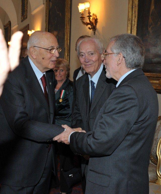 Col Presidente G. Napolitano