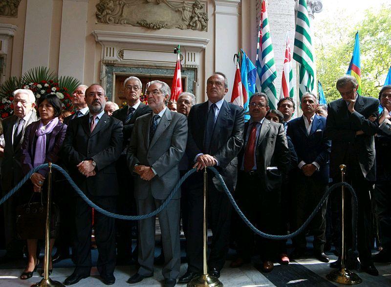 ROMA 6 OTTOBRE 2009FUNERALE DI GINO GIUGNI AL CNELNELLA FOTO