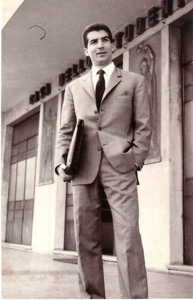 Genova 1965-Giorno della laurea in legge