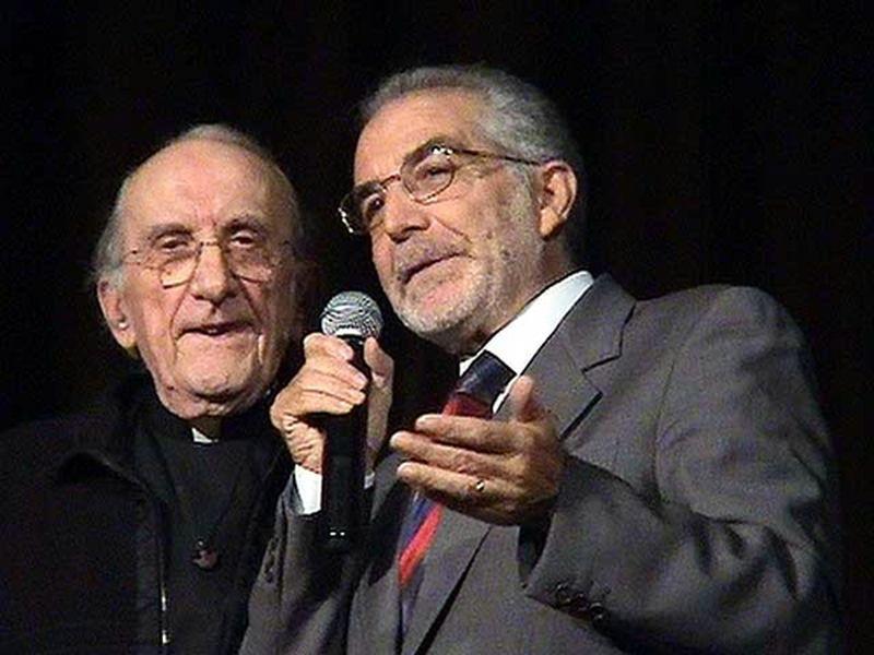 Incontro a Pescara dopo trent'anni con don Andrea Gallo