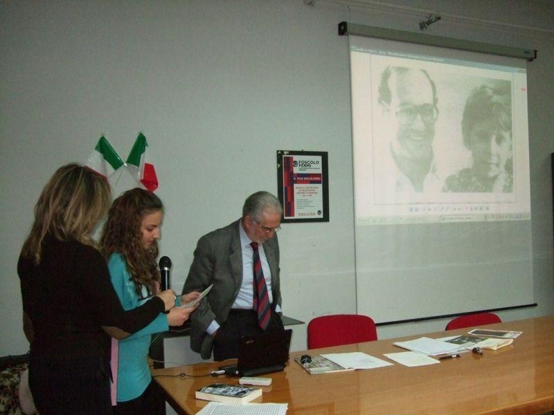 Pescara 25 febbraio 2012- scuola Media Ugo Foscolo