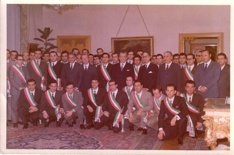 Roma-1969-Eccoci Commissari-Con Vicari Capo della Polizia