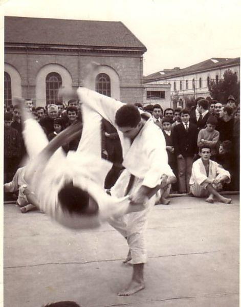 Roma 1970-Judo che passione-cintura nera-Ippon!!