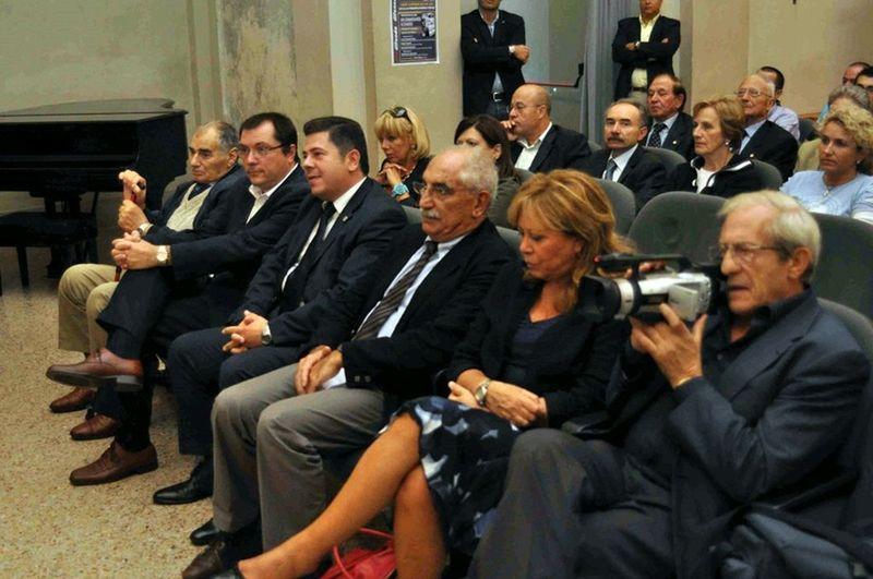 Tra il pubblico anche Il Procuratore aggiunto della Repubblica-Tribunale di Milano Armando Spataro.