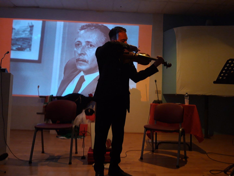 Borsellino evento violinista (1)